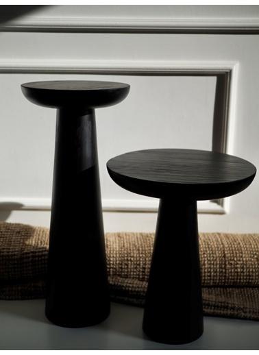Tucas Home Mushroom 1 Siyah Siyah